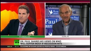 7 signs worldwide recession ahead, with Ron Paul (Full show)