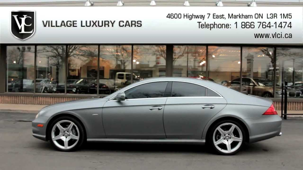 2010 mercedes benz cls 550 village luxury cars toronto for Mercedes benz cls 2010