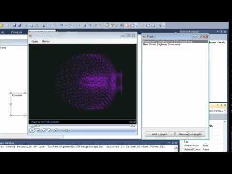 (VB.NET Tutorial) Windows media player with playlist