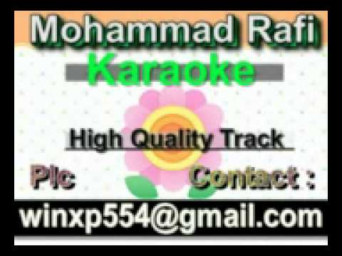 Naav Kagaz Ki Gehra Hai Paani Karaoke Duniyadari 1977 Rafi,Lata