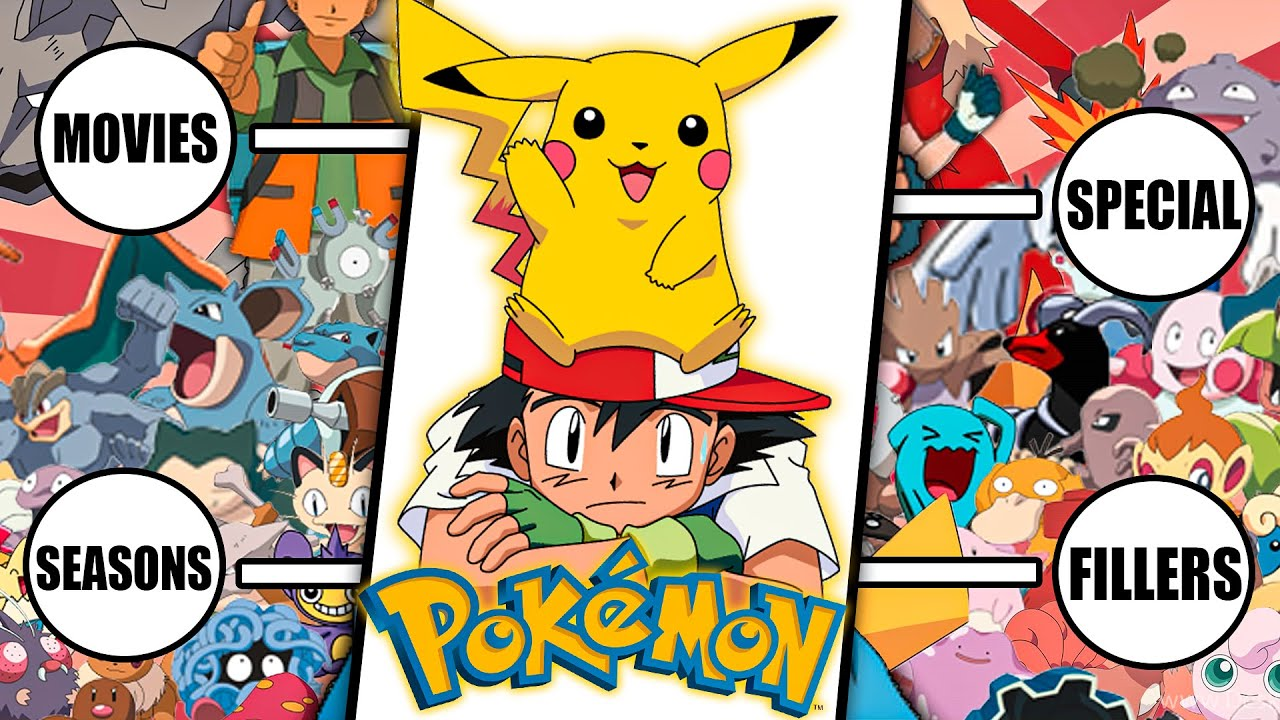 How To Watch Pokemon In The Right Order - YouTube