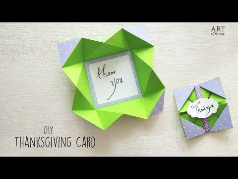 How to make a Thanksgiving Card | DIY Thanksgiving Cards