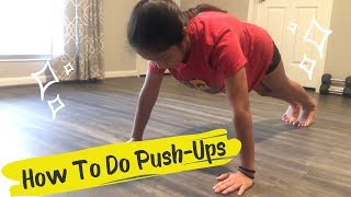 How To Do Push-ups  For beginners  AVIverse