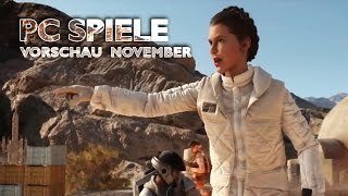 PC-Spiele im November - Star Wars: Battlefront, SC 2: Legacy of the Void, CoD: Black Ops 3