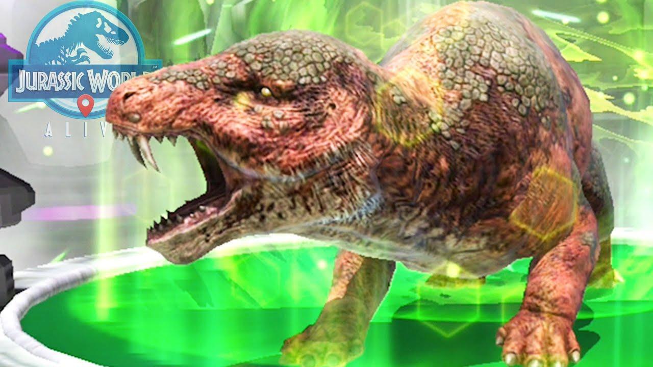 NUEVO DINOSAURIO LOBO SUPERHIBRIDO DE ERA DE HIELO! Andrewtops nueva criatura Jurassic World Alive