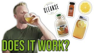 Cleanse Diet - What Is The Master Cleanse Diet? 🍋🌶️🍁 (I TRIED IT AND WAS SHOCKED) | LiveLeanTV