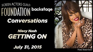 Conversations with Niecy Nash of GETTING ON