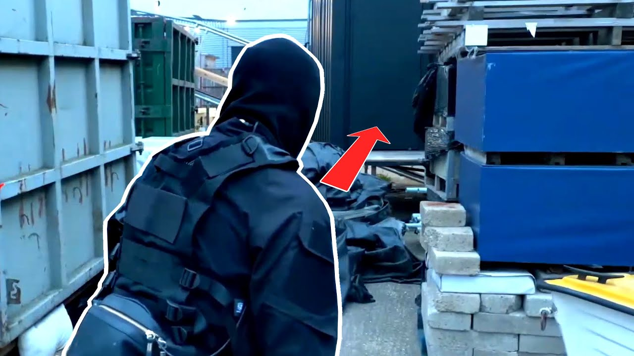 We hired Actors to play a Stealth Game in real life