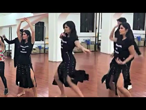 Katrina Kaif Hot Dance Practice  Video