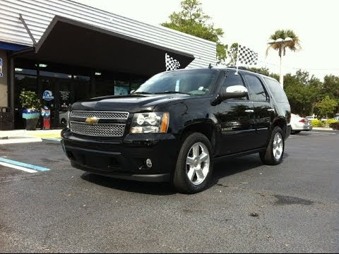 Autoline Preowned 2007 Chevrolet Tahoe Ltz For Used Walk Around Review Test Drive Jacksonville