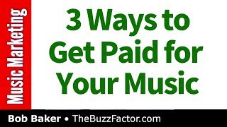 How to Get Paid for Your Music   Bob Baker Marketing Podcast