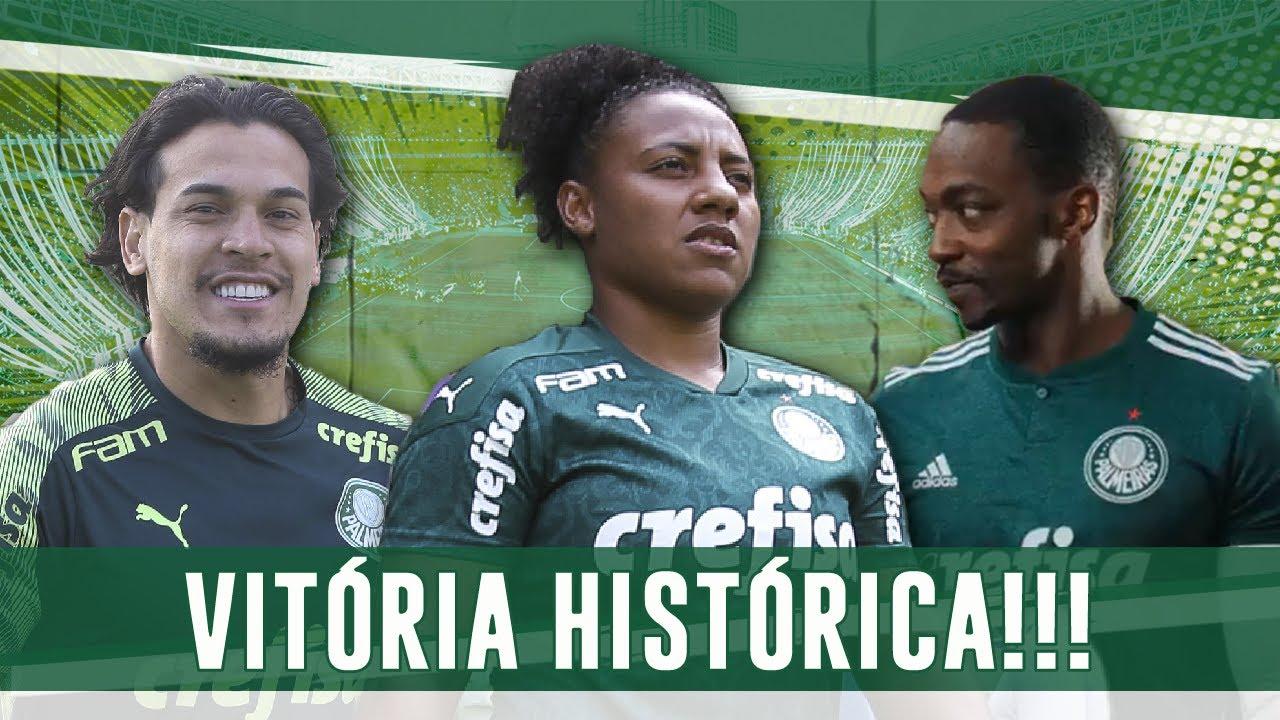 TIME MASCULINO DE  FOLGA, FEMININO E SUB-20 GANHAM COM GOLAÇOS E VINGADOR COM CAMISA DO PALMEIRAS!