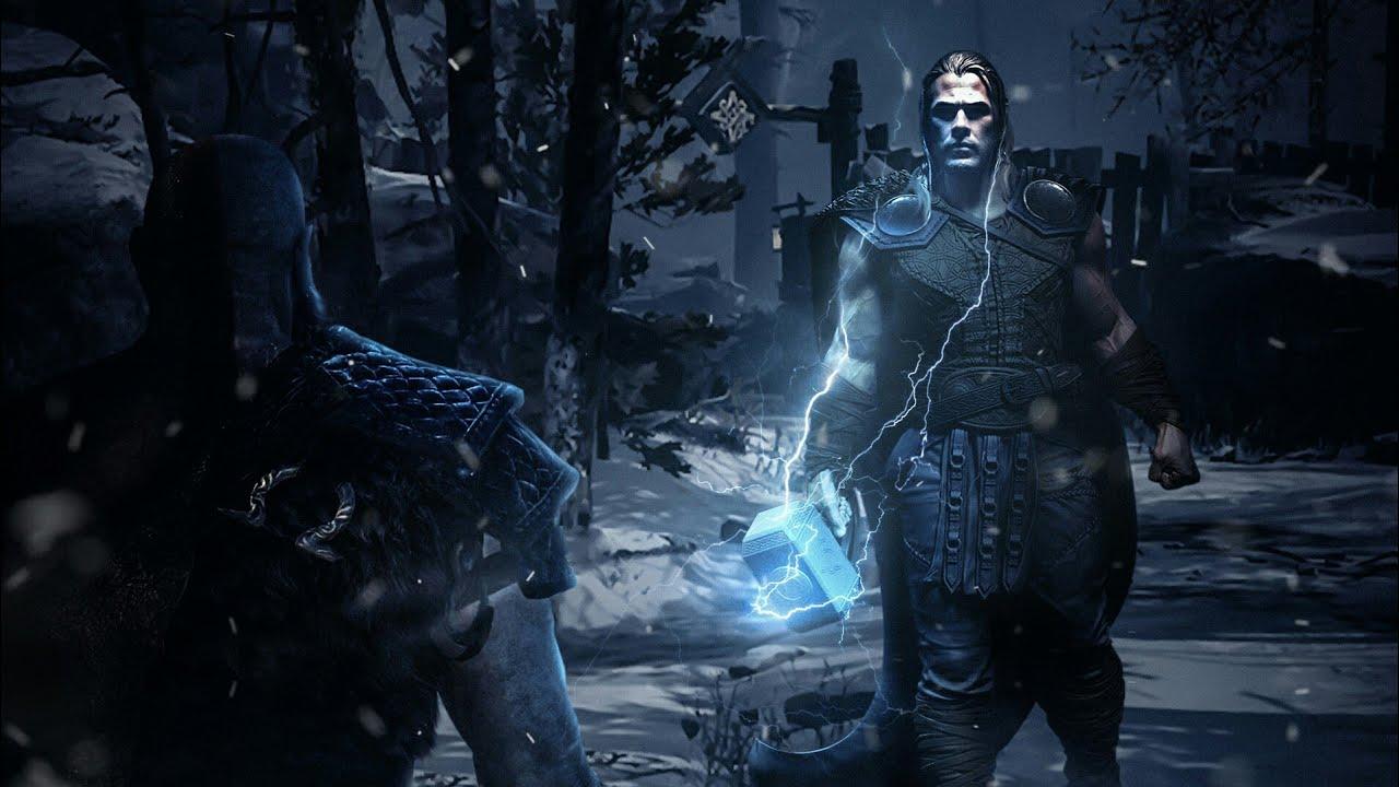 Ps5 God Of War 5 Kratos Vs Thor Teaser Trailer Fan Made 2020