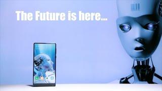 Смартфон будущего Xiaomi Mi Mix в руках простого смертного. За 800