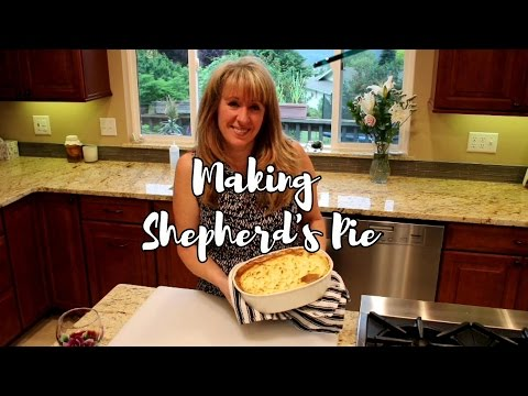 Hey! It's Mom Shepherd's Pie - made with Ground Beef