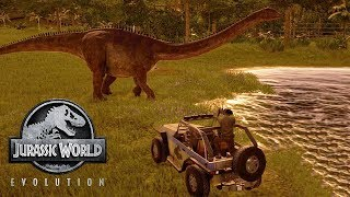 JURASSIC WORLD EVOLUTION #9 - UN BESTIONE MALATO - GAMEPLAY ITA