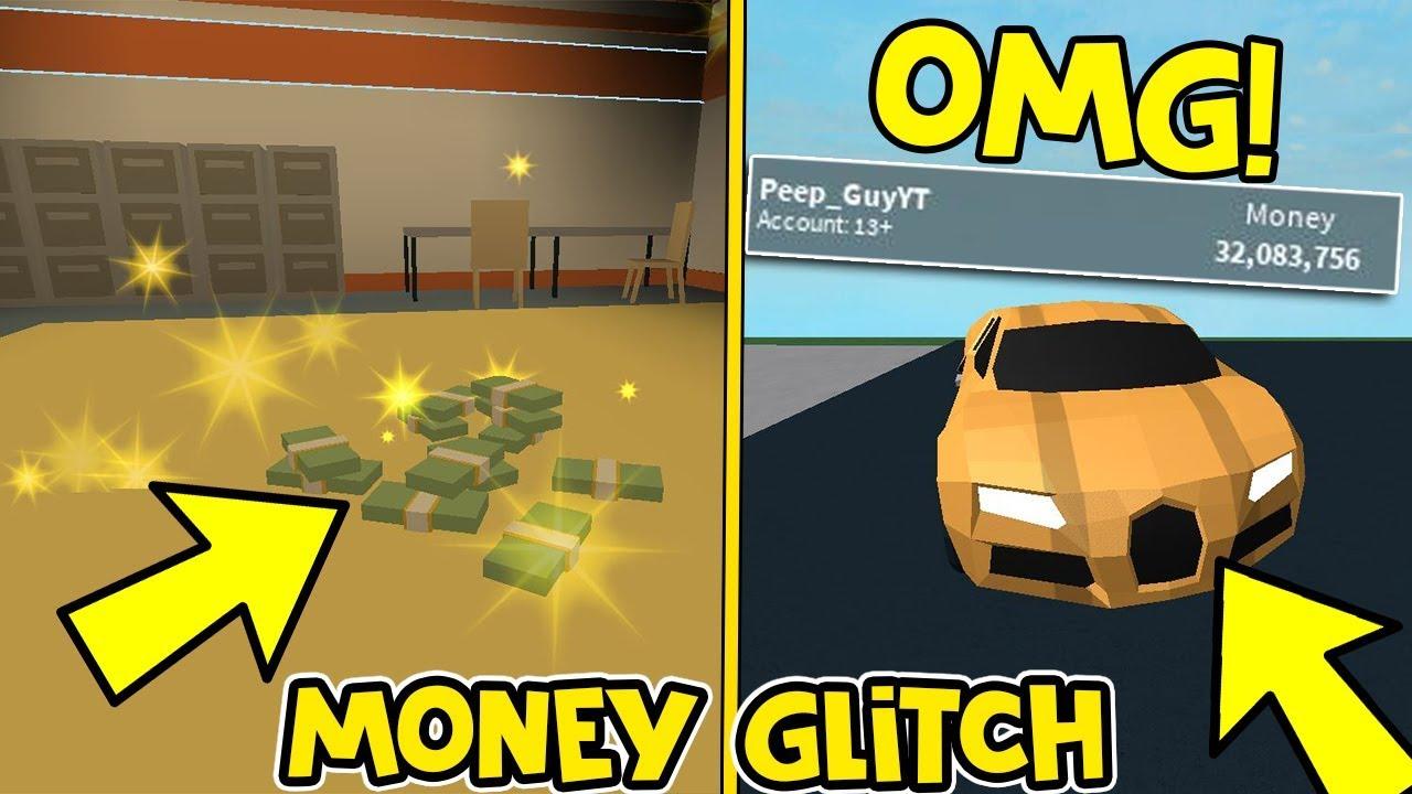 Unlimited Money Glitch That Works In Jailbreak Roblox Youtube