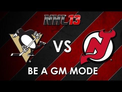 NHL 13: Pittsburgh Penguins vs. New Jersey Devils