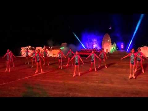 แอโรบิก แสดงงานตีคลีไฟที่ชัยภูมิ