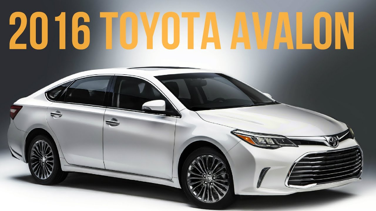2016 Toyota Avalon Interior And Exterior Youtube