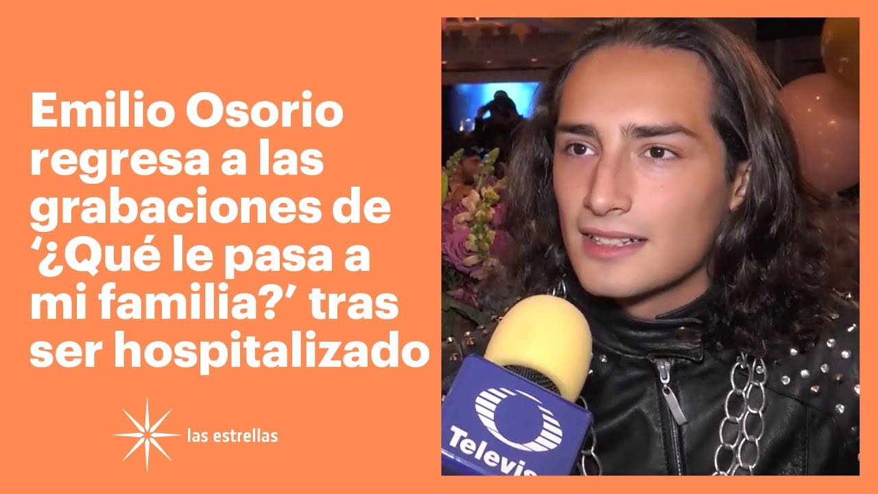 Download Emilio Osorio fue hospitalizado por un fuerte dolor abdominal | Las Estrellas