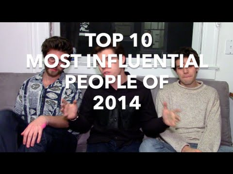 The Top 10 Most Influential People of 2014