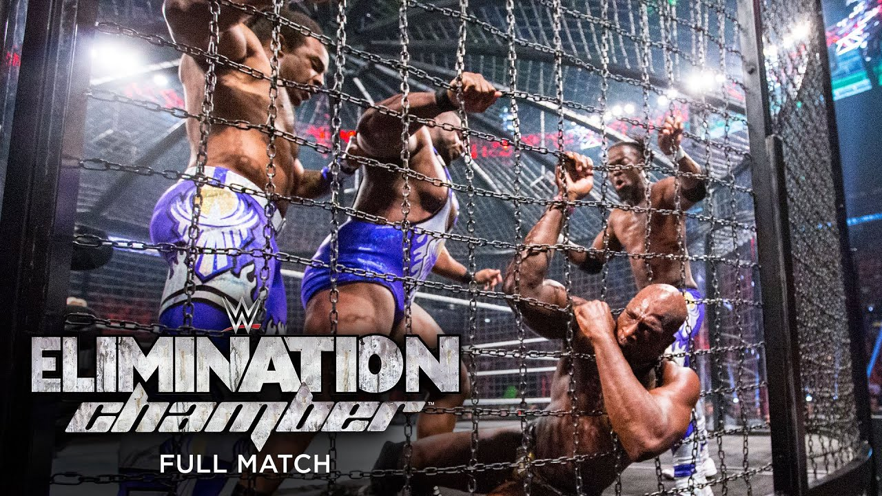 Download FULL MATCH - WWE Tag Team Championship Elimination Chamber Match: WWE Elimination Chamber 2015
