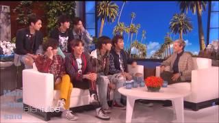 [Озвучка by MarichkaSaid][BTS] BTS on Ellen Show 2018 БТС НА ШОУ ЭЛЛЕН
