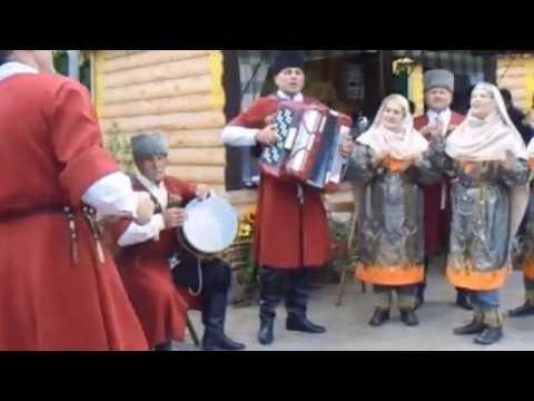 Дагестан танцует и поет в Москве-Dagestan dances