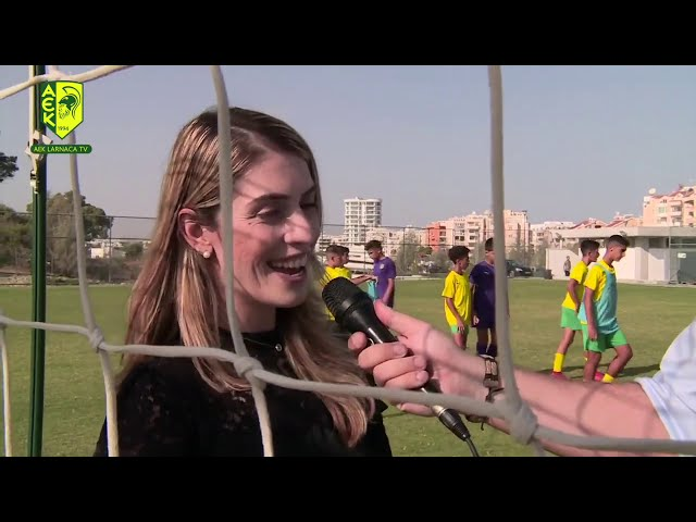 AEK LARNACA TV   AEK ACADEMY   -ΤΑΛΕΝΤΑ ΚΑΙ ΨΥΧΟΛΟΓΙΑ