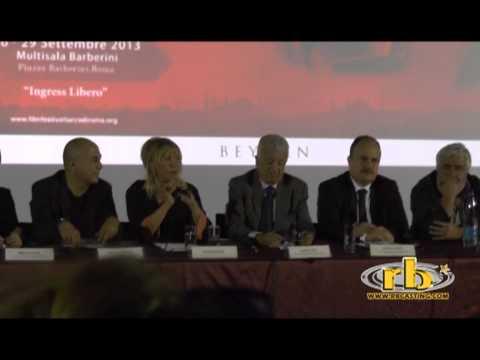 Film Festival Turco, Mamma li Turchi 2013, conferenza stampa con Ferzan Ozpetek