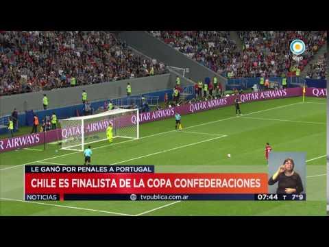 TV Pública Noticias - Copa Confederaciones: Chile eliminó por penales a Portugal