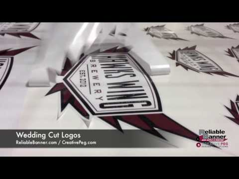Custom Stickers - How are contour cut decals made? - Reliable Banner Sign Supply & Printing