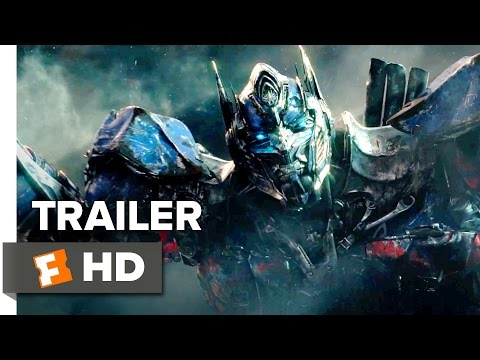 трейлер 2017 - Transformers: The Last Knight Official Trailer 1 (2017) - Michael Bay Movie