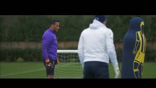 Тренировка вратарей Тоттенхэм Хотспур/goalkeepers Tottenham Hotspur training
