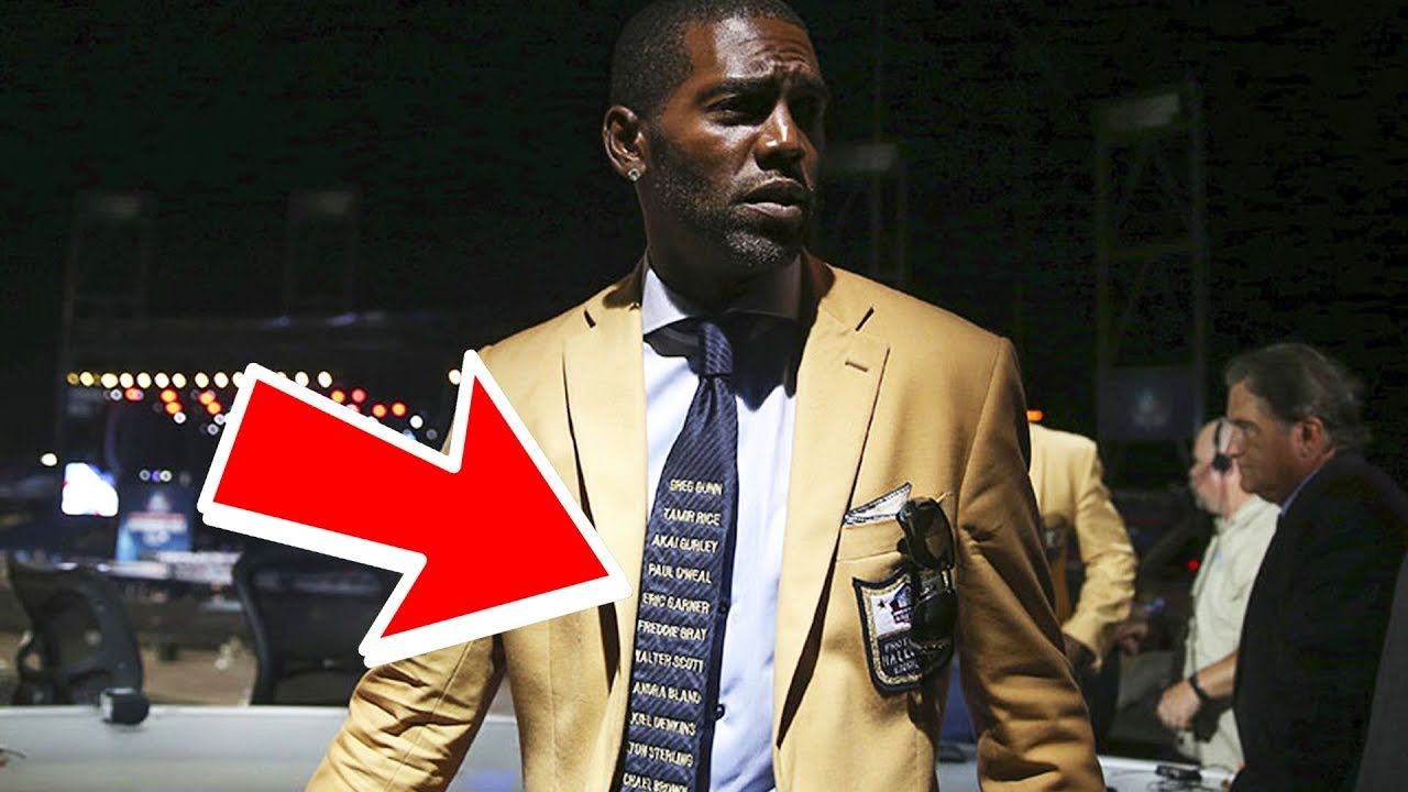 93da8c975 Everyone Should Read Randy Moss  Hall Of Fame Tie - YouTube