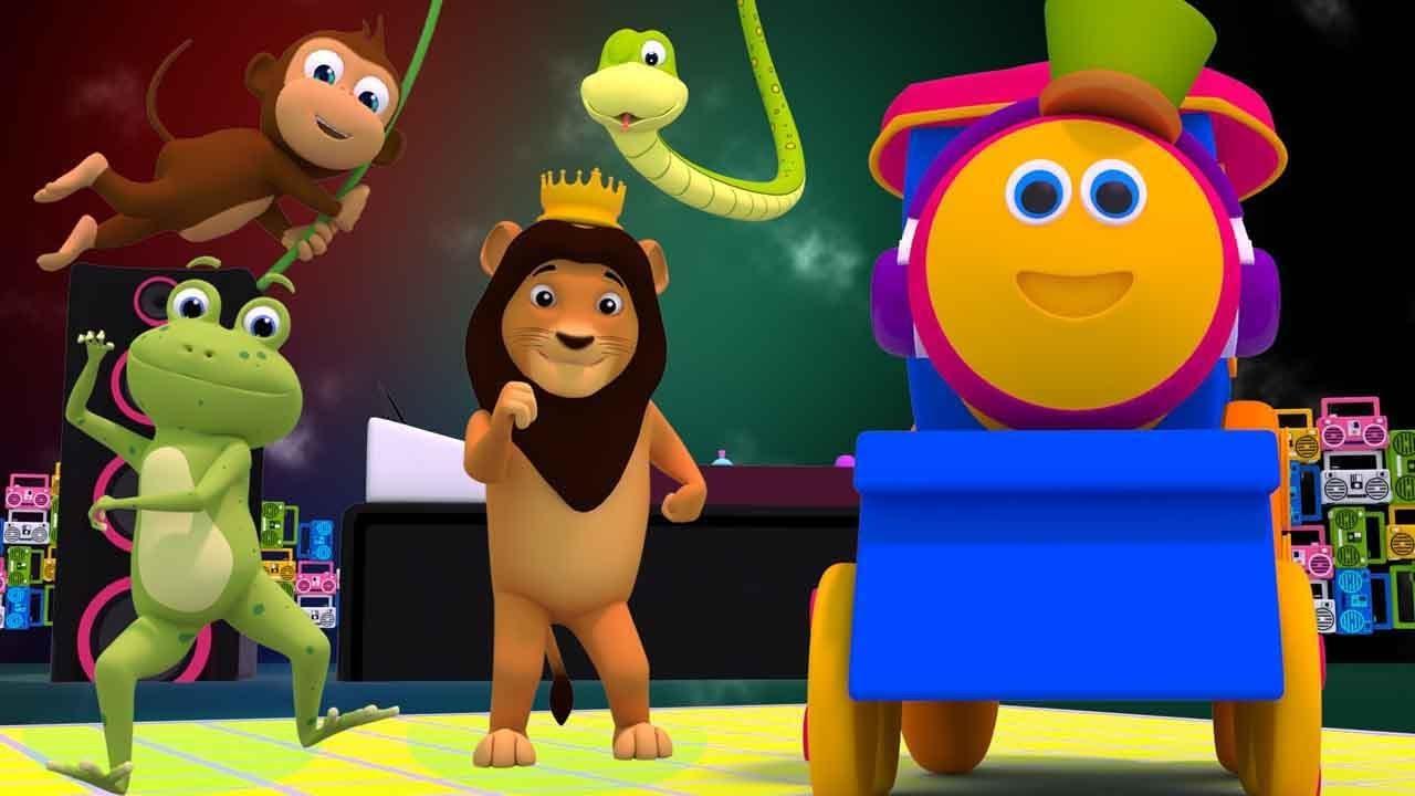 Bob O Trem Som Animal Desenho Animado Video Para Criancas