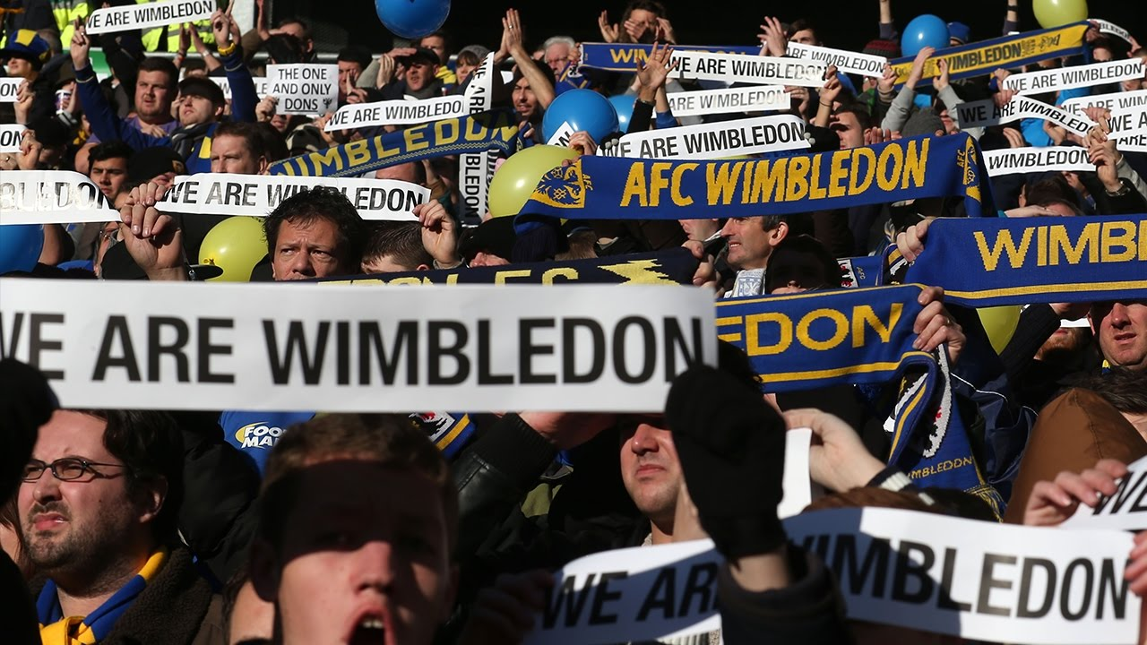 How One Club Became Two Enemies   MK Dons & AFC Wimbledon