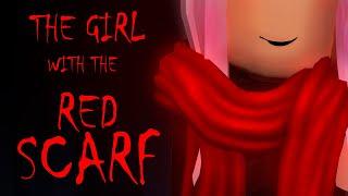 História de HORROR Roblox | A menina com o lenço vermelho-histórias do horror da cidade de meep