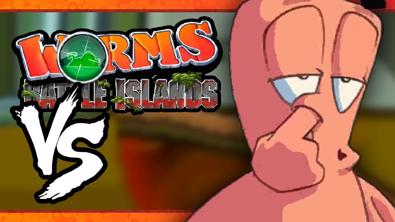 Скачать worms battle islands на компьютер