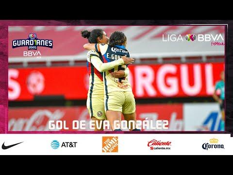 Chivas 0 - [2] Club America - Eva Gonzalez 66' (0-3 on aggregate) [Liga MX Femenil Apertura 2020 Quarter-Finals]
