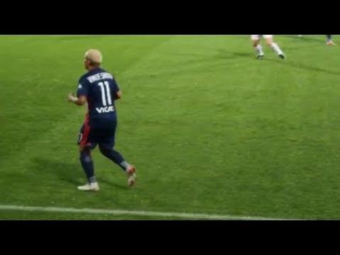 Op De Voet Gevolgd Voetbalster Shanice van de Sanden (Olympique Lyon)