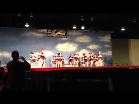 Maple ridge secondary school cheer competition