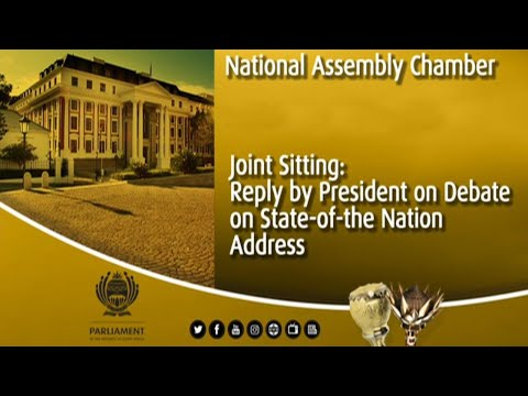Reply by President to debate on State-of-the-nation address