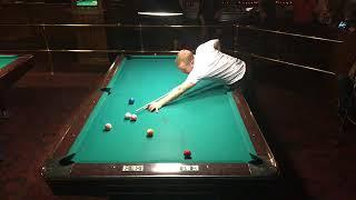 theBilliardists   Mika Immonen & Sean Morgan [Race to 150] - Amsterdam Billiards League NYC