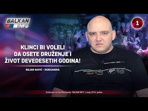 INTERVJU: Bojan Savić - Klinci bi voleli da osete druženje i život devedesetih godina! (9.5.2019)