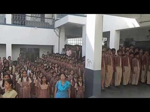 NATIONAL ANTHEM OF GURU NANAK PUBLIC S.S. SCHOOL HIRAN MAGRI SEC 4 UDAIPUR RAJ