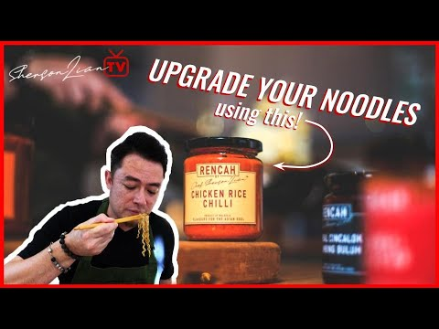 #RENCAHRecipes: Stir-Fried Noodles with Chicken Rice Chilli | Sherson Lian
