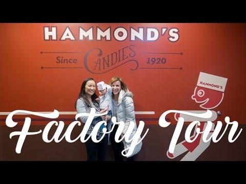 HAMMOND'S CANDIES   Factory Tour   Denver, Colorado