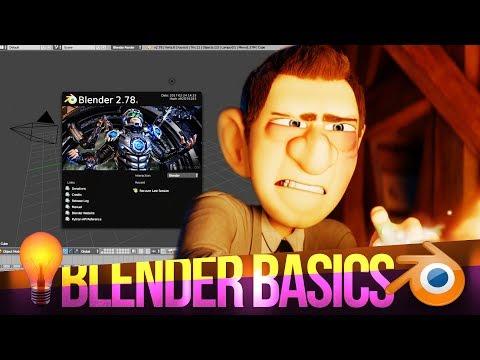 How to use Blender - Beginner's Tutorial (2017)